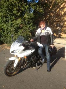 Lyndsay Potter biker