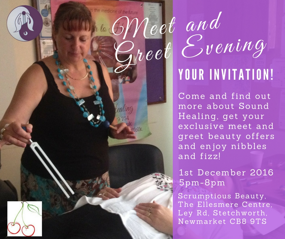 Petra Healing Meet and Greet invitation - Stetchworth, Newmarket