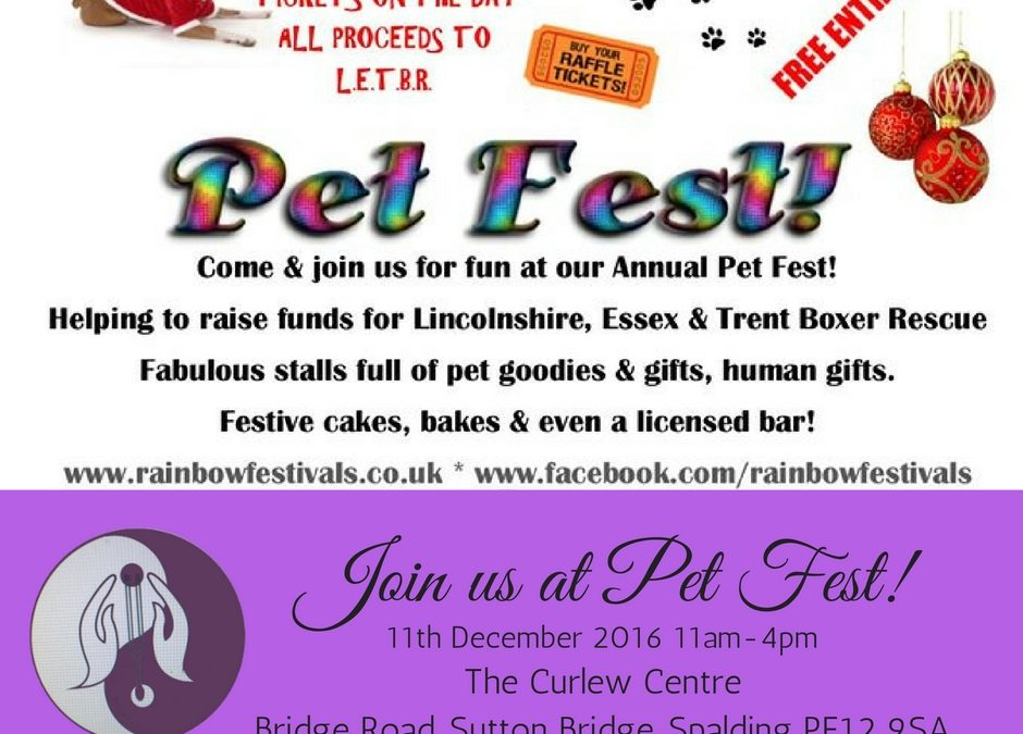 Pet Fest Sutton Bridge, Spalding – We Can't Wait!