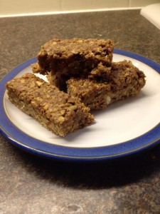 Raw snack bars